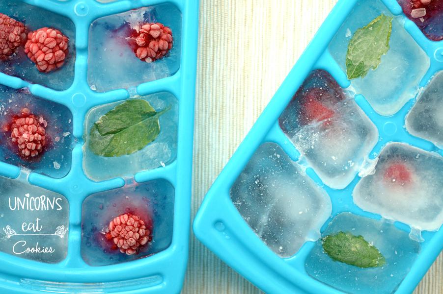 idee estate,unicorns eat cookies, fruity ice cubes, summer ideas drink
