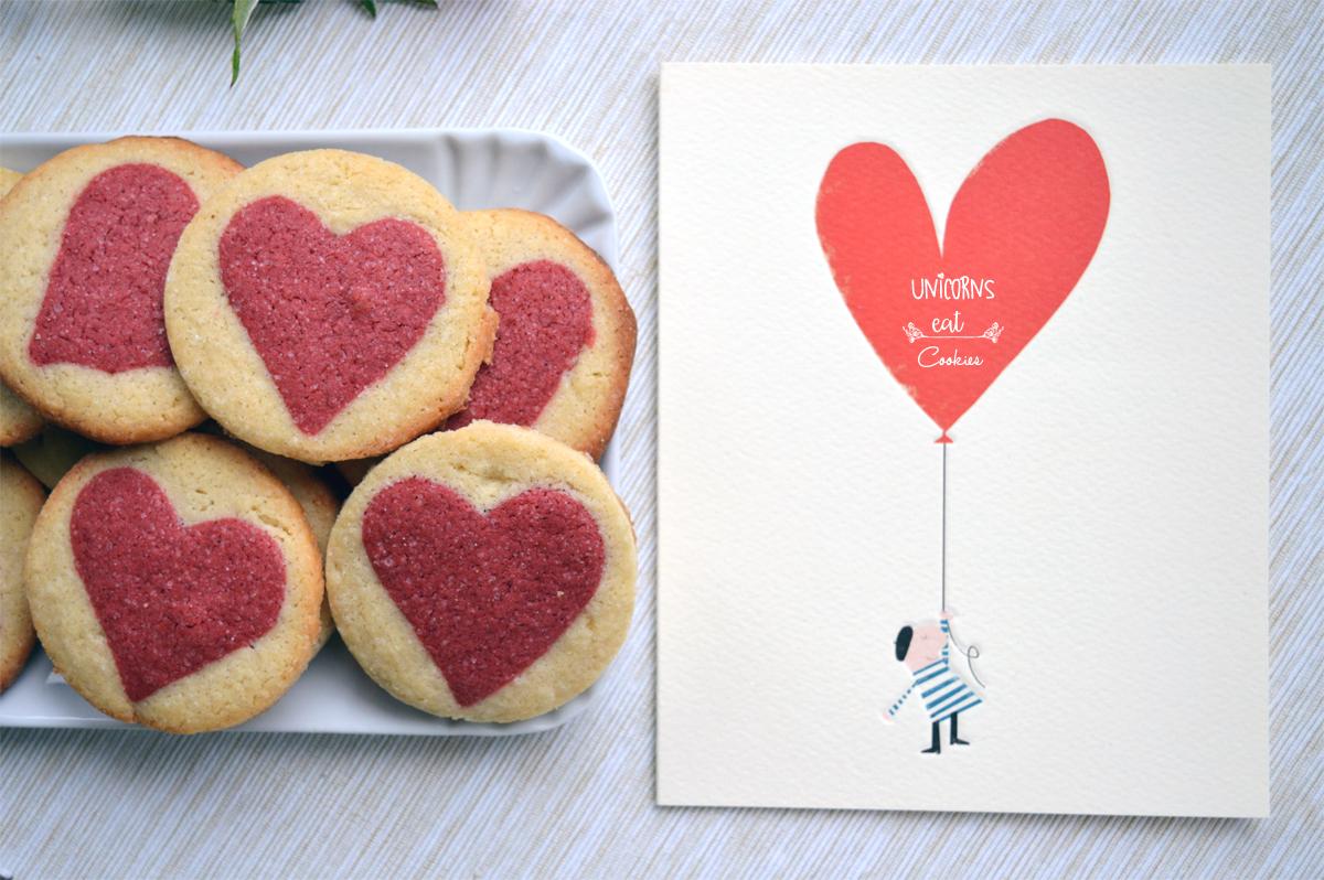 Unicorns, unicorns eat cookies, unicorn, valentine, san valentino, sweet, dessert, cookies, biscuits, ricetta, recipe, torte, cakes, facile, easy, cheap, economica, biscotti, cuore, cuori, hearts, red, love, present, gift, recipe, chocolate,