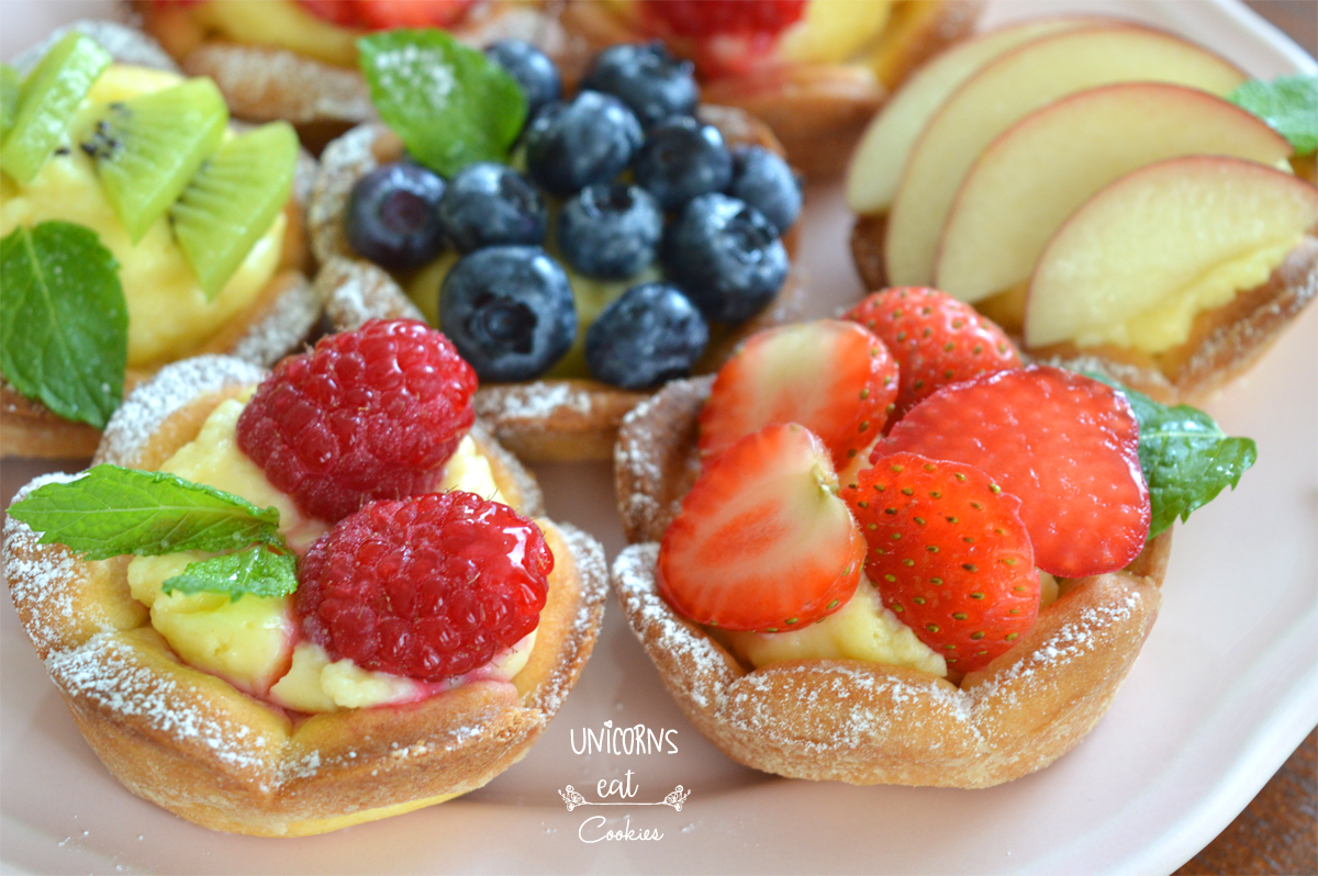 dessert, dolci, ricette, recipe, pastry, homemade, fresh, fruit, frutta, shortcast pastry, pasta frolla, crema pasticcera, cream custard, easy, facile,