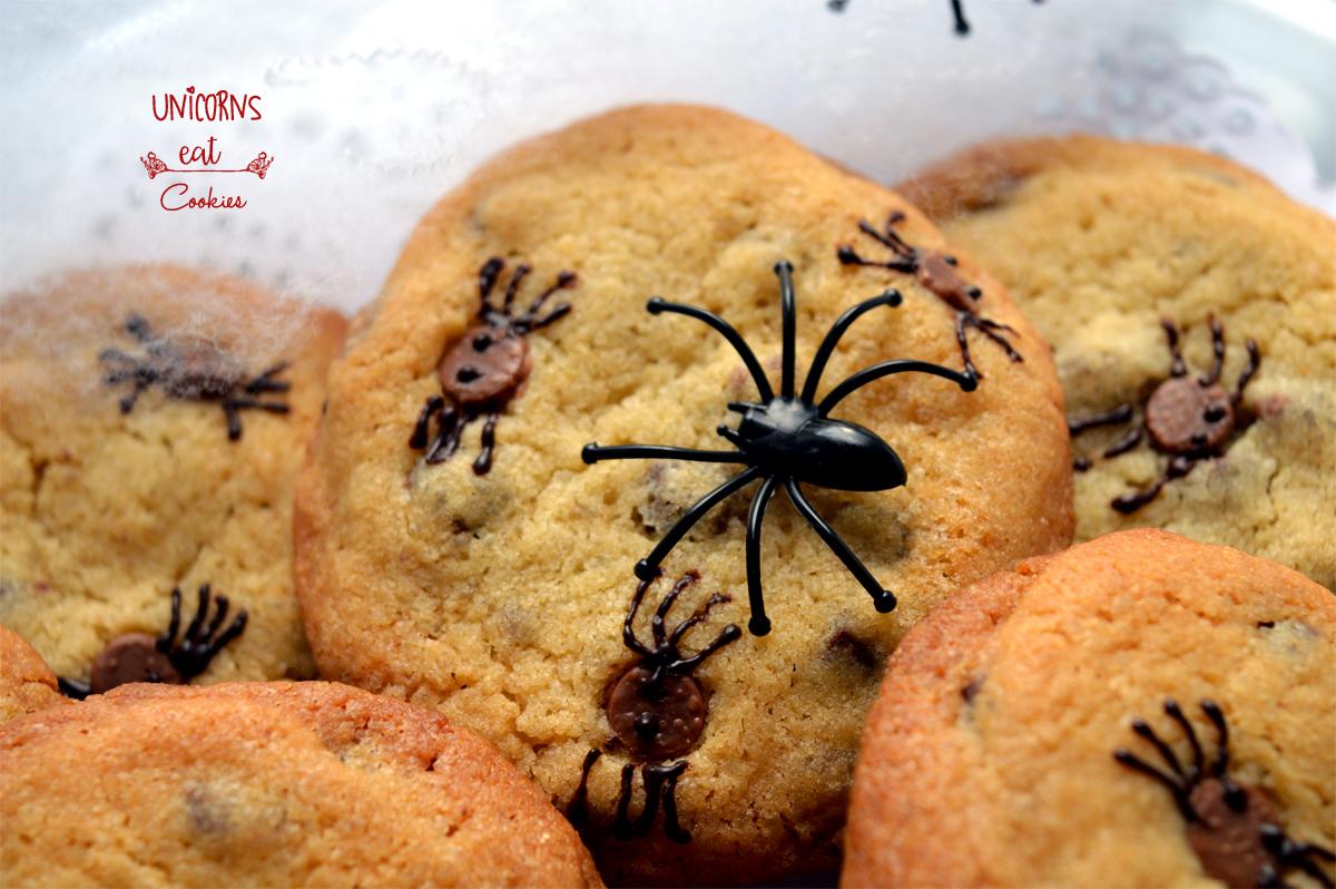 Halloween, spider, recipe, ricette, cookies, bambini, kids, spider, ragni, cioccolato, chocolate