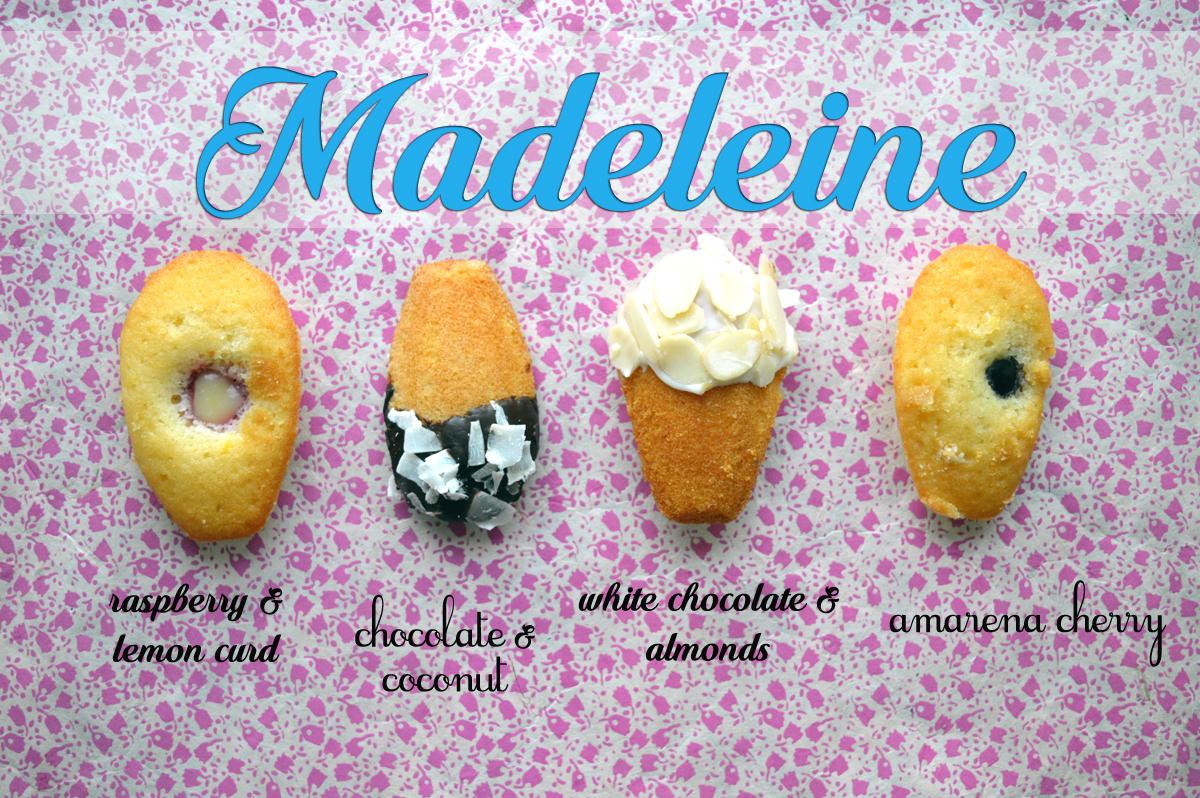 madeleine, ricetta, recipe, suocera, lemon curd, lamponi, raspberry, amarena, amarena cherry, chocolate, cioccolato, pastry, dessert, cake, torta, mother-in-low, cioccolato bianco, white chocolate, almonds, mandorle