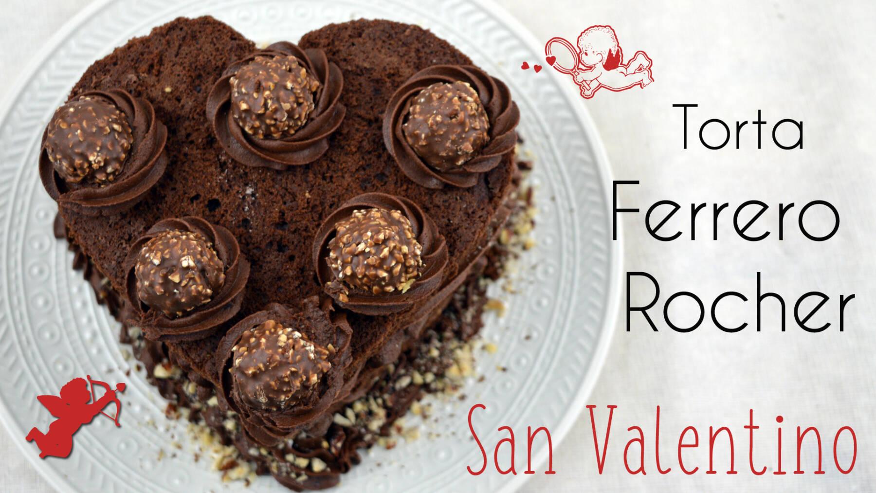 Torta, cake, ferrero rocher, nutella, chocolate, cioccolato, madeira, Madeira al cioccolato, chocolate Madeira, hazelnuts, noccioline, san valentino, valentine's day, sorpresa, ricetta, recipe, video,