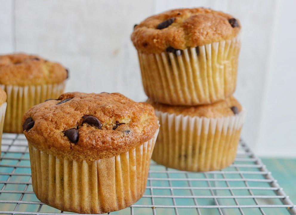 ricetta muffin-originali con gocce di cioccolato