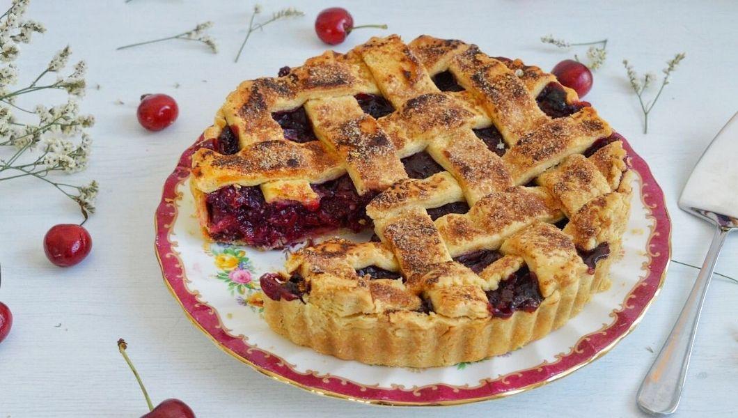 cherry pie torta alle ciliegie americana