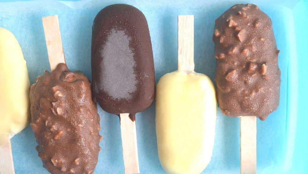 gelati magnum segna gelatiera fatti in casa